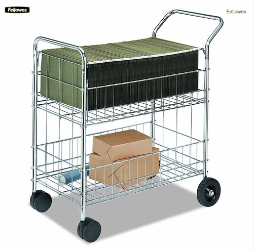 Fellowes® Mail Cart 301945
