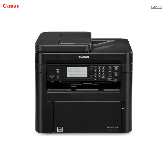 Canon imageCLASS MF267dw Monochrome Wireless All-In-One Laser Printer