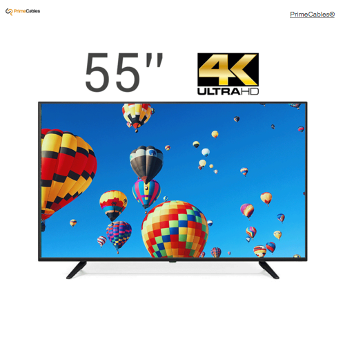 PrimeCables® 55'' 4K UHD DLED TV with IPS LCD Panel Television