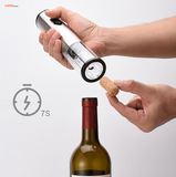 Automatic Corkscrew Wine Bottle Opener with Foil Cutter, Battery Powered