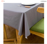 Table Cover Tablecloth Rectangle Vinyl Heavy Weight Oil-proof Waterproof