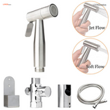 Luxury Hand Held Bidet Multi-Purpose Sprayer Stainless Steel