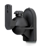 Adjustable Satellite Speaker Wall Mount (Max 7.7LBS/3.5Kgs) - Set of 2
