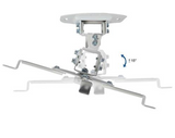 Universal Adjustable White Ceiling Projector Mount Tilt and Swivel Projection Bracket