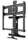 Above Fireplace Pull-Down Full-Motion Articulating TV Wall Mount Bracket