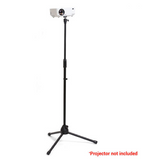 Foldable Tripod Stand For Projector, Height adjustable from 75cm - 148cm