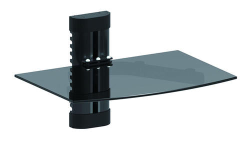Height Adjustable DVD Component Single shelf