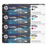 HP 972A Original PageWide Ink Cartridge Combo BK/C/M/Y