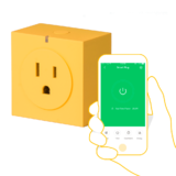 ORVIBO® S31 WiFi Smart Socket Yellow- App Control and Alexa Ready, RedDot 2017 award winner