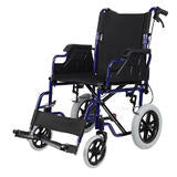 Foldable Lightweight Wheelchair with Swing Away Footrests, 12