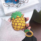 3D Cute Cartoon Pineapple Protective Case for AirPods 1/2