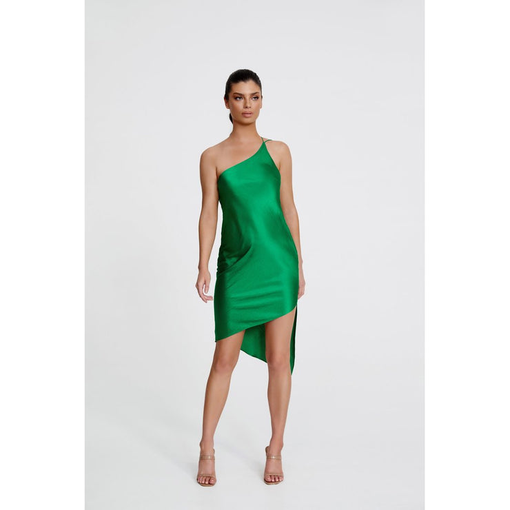 Anya Dress - Emerald