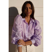 Knowles Blouse - Lilac