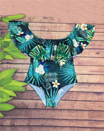 Women's Summer Fresh Floral Print  Swimwear