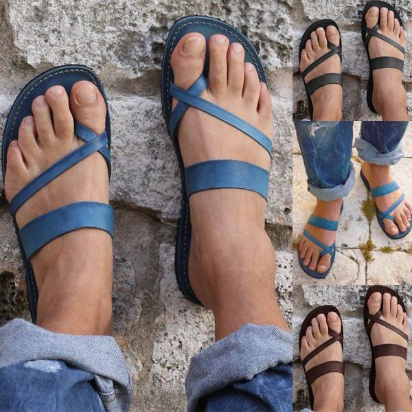 Bandage Casual Open Toe Flip-flops Work Shoes Summer Sandals Slipper