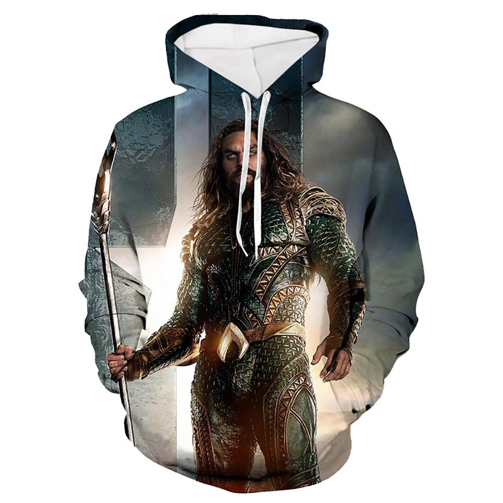 New Casual Long Sleeve 3D Printed Hoodie Plus Size Sweatshirts