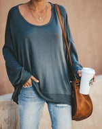 Sexy Solid Color Backless Long Sleeve T-shirts Tops