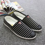 Men Canvas Black-white Daily Casual Shoes