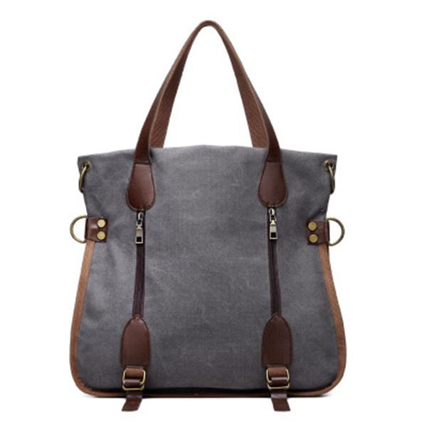 Vintage Casual Canvas Handbag Retro Crossbody Bag