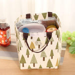 Waterproof Hand-held Lunch Tote Bag Cooler Insulated Storage Bag