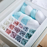 Eco-Friendly Oxford Cloth 2in1 Water Proof Folding Storage Box for Bra Underwear Socks