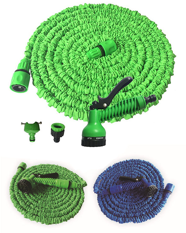 Multi-function Garden Telescopic Waterpipe Flexible Plastic Water Gun