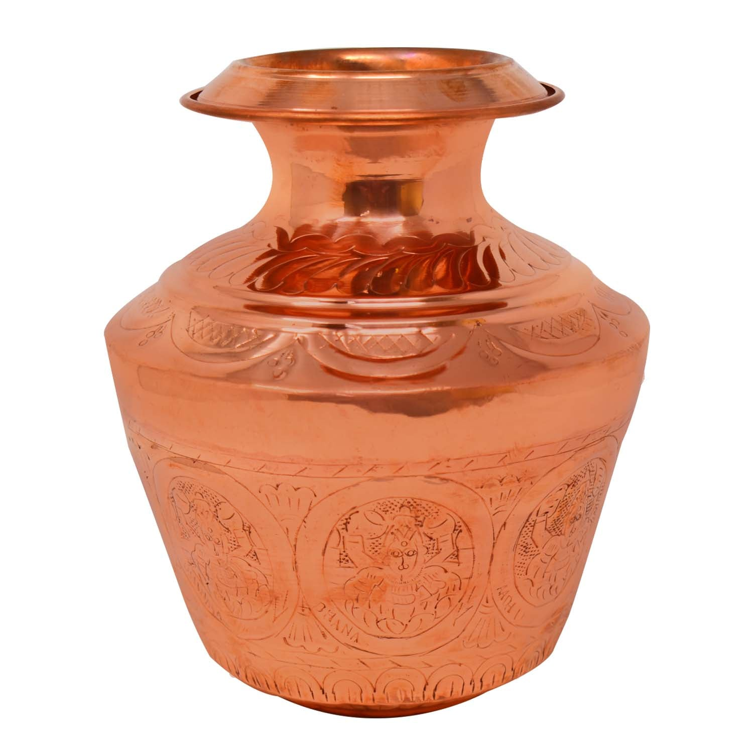 Copper Ashtalakshmi Water Pot