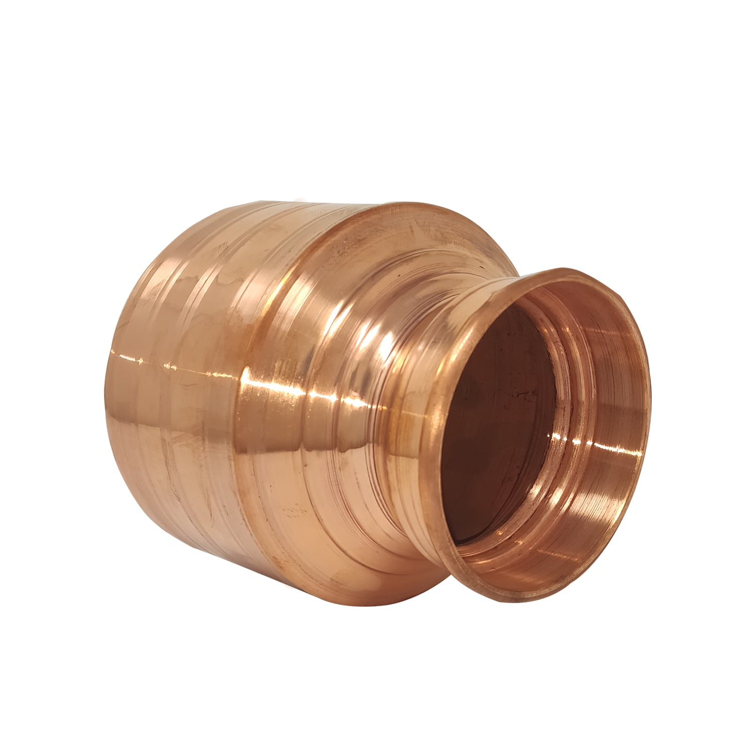 Pure Copper Gujarati Pot | Copper Handa (Variants available)