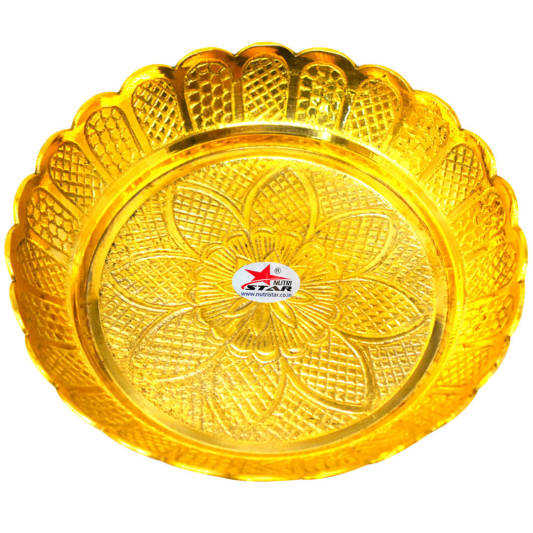 Pure Brass Mahabharat Peacock Diya with 7 Steps |Height = 6 feet (72 Inches)| Weight = 30 KG