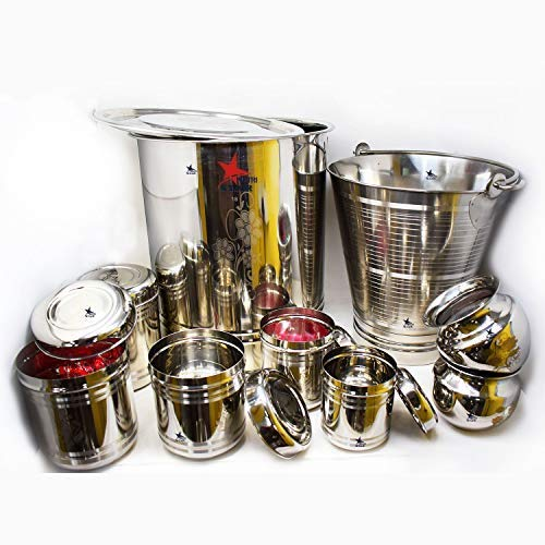 Nutristar Stainless Steel Marriage Wedding Set