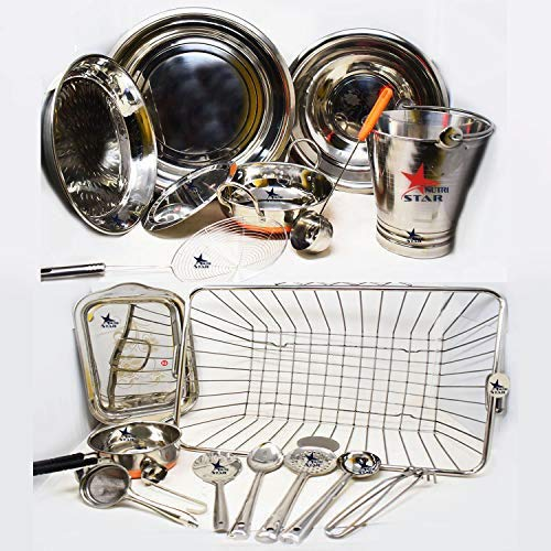 Nutristar Stainless Steel Copper Bottom Marriage Wedding Set