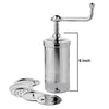 Nutristar Stainless Steel Murkul Maker | Stainless Steel Sev Maker Height 6 Inch…