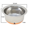 Nutristar Stainless Steel Copper Bottom Patila Tope with lid