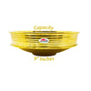 Copper Masala Spice Box with Khalai (tin) Inside Bowls | Masala containers for Kitchen | Box Diameter 9 Inch