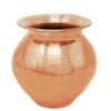 Pure Copper Lota | Copper Kalash | Capacity = 300 ml