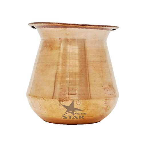 Pure Copper Lota | Copper Marwadi Lota