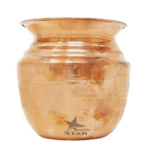Pure Copper Kalash | Copper Lota with Matt Finish