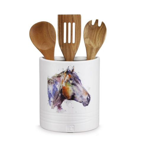 Horse Utensil Holder - Rusty Moose Marketplace
