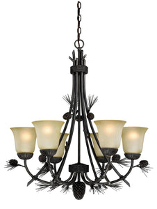 Sierra 6L Chandelier - Rusty Moose Marketplace