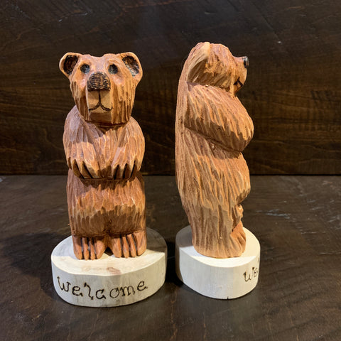 Hand Whittled Bear - Rusty Moose Marketplace