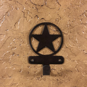 Star Robe Hook - Rusty Moose Marketplace