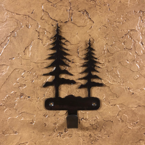 Trees Robe Hook - Rusty Moose Marketplace