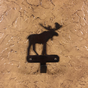 Moose Robe Hook - Rusty Moose Marketplace