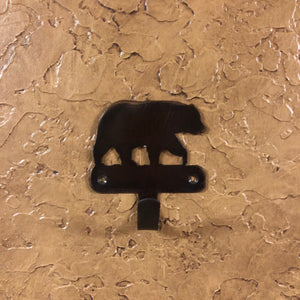 Bear Robe Hook - Rusty Moose Marketplace