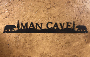 Man Cave sign - Rusty Moose Marketplace