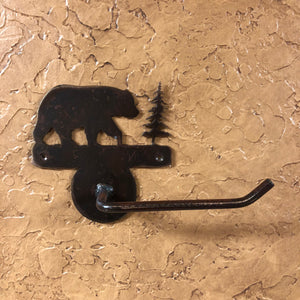 Bear Toilet Paper Holder - Rusty Moose Marketplace