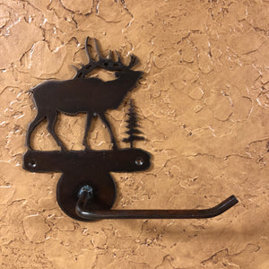 Elk Toilet Paper Holder - Rusty Moose Marketplace