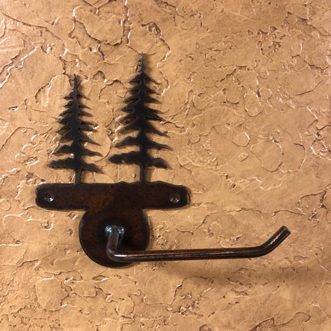 Trees Toilet Paper Holder - Rusty Moose Marketplace