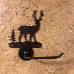Deer Toilet Paper Holder - Rusty Moose Marketplace