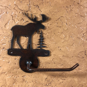 Moose Toilet Paper Holder - Rusty Moose Marketplace